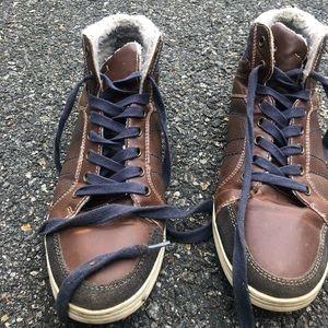 Fur-lined Steve Madden Boots!